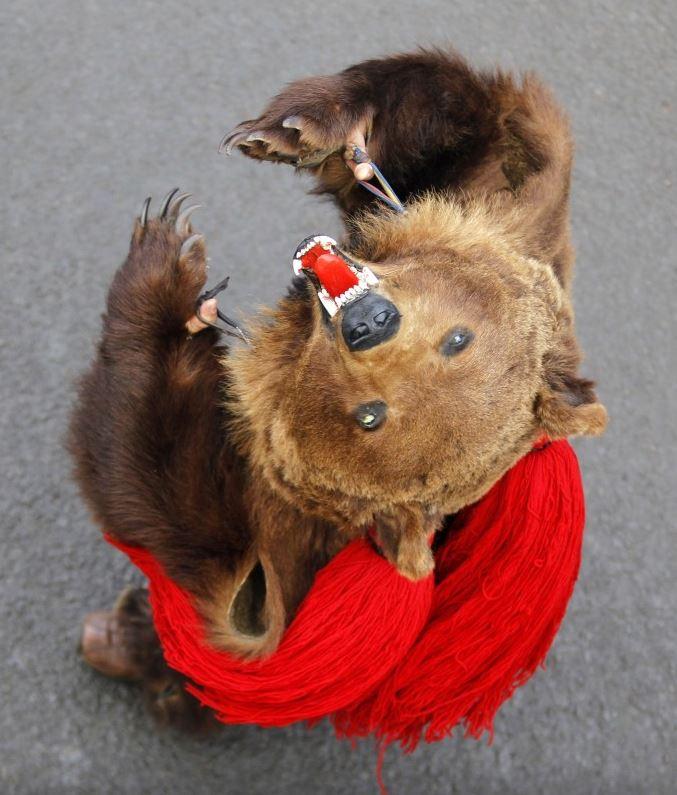 Медведь, дух медведя изгнание духов