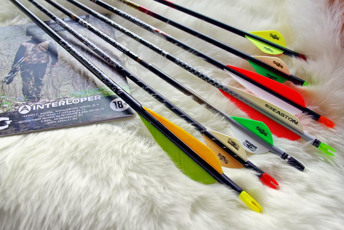 Арбалетные стрелы своими руками