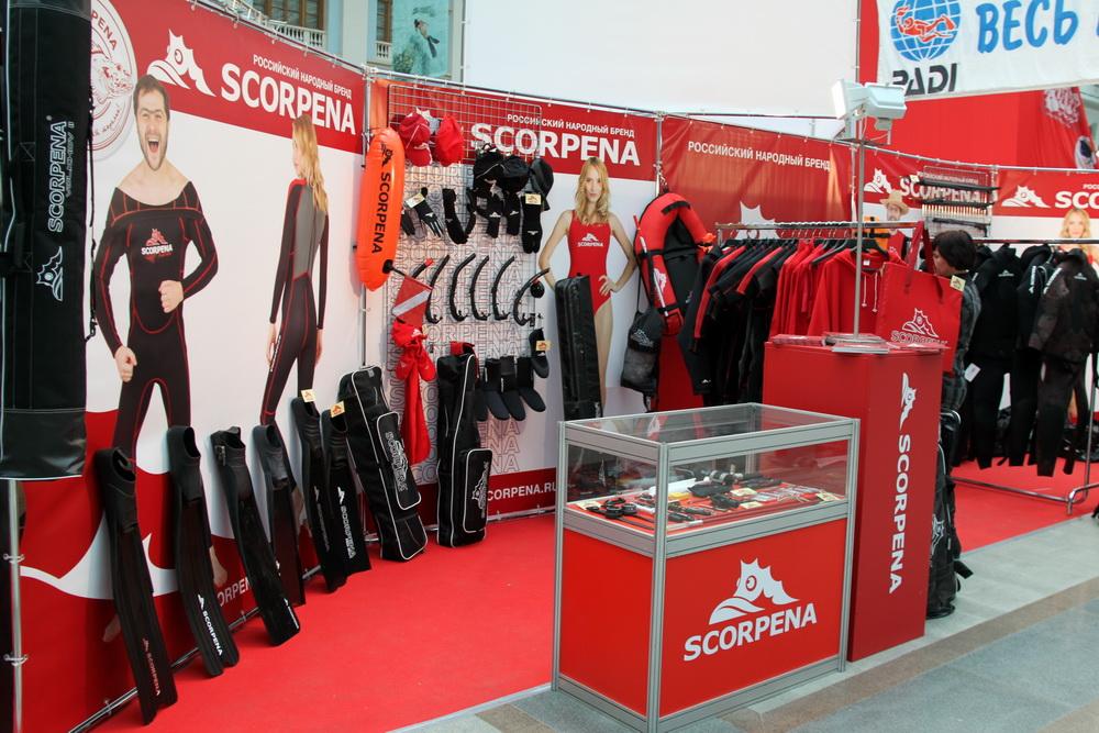 Скорпена - новый бренд подводного снаряжения на российском рынке