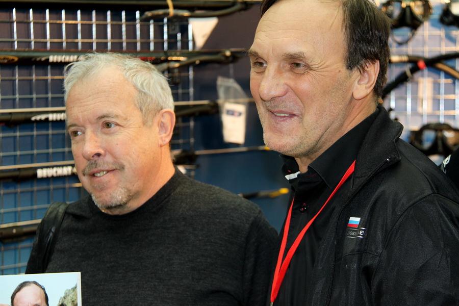 Андрей Макаревич и Владимир Докучаев Золотой Дельфин 2014