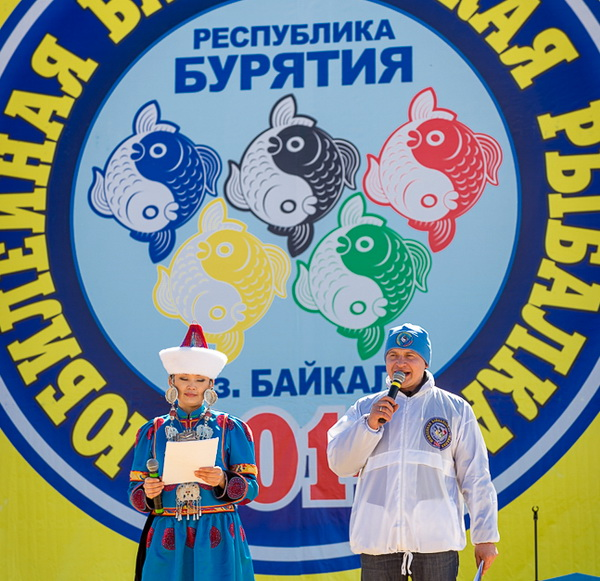 10-я Байкальская Рыбалка-2014 с рекордом России разыграла внедорожник среди 261 команды рыболовов-зимников