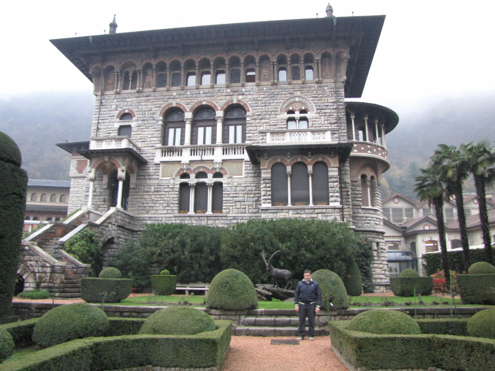 Villa Beretta в Gardone Val Trompia Italia.