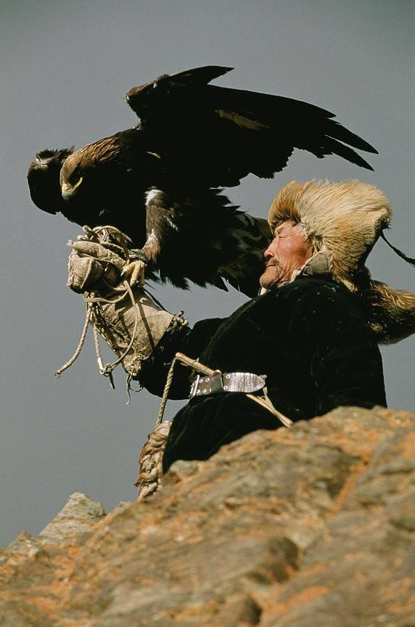 Беркутчи Казахстана - Традиции Национальной Охоты: Охота с беркутом в Казахстане (ВИДЕО)