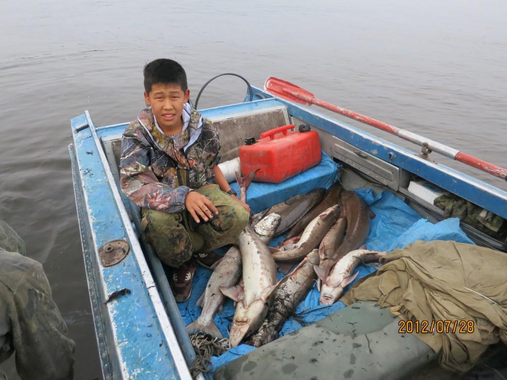 рыбалка на осетрину