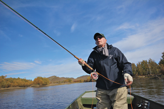 39-й Президент США Джимми Картер на рыбалке и охоте