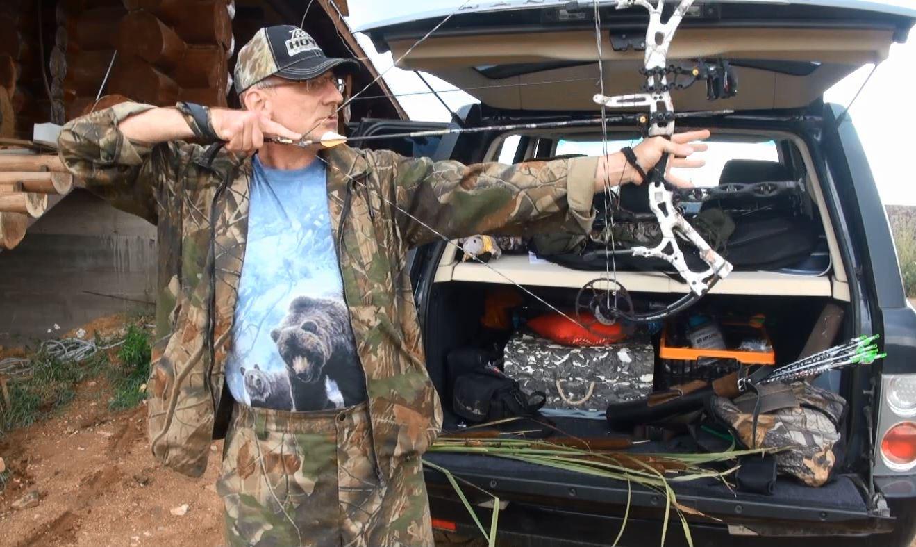 Обучение стрельбе из блочного лука, уроки стрельбы из блочного лука, обучение стрельбе из лука бесплатно Андрей Шалыгин