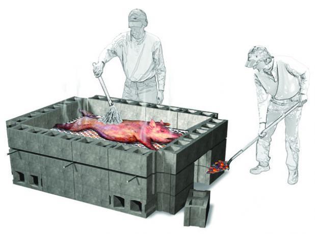 Запеченный Дикий Кабан, Как приготовить мясо кабана - Дикий кабан, Рецепты приготовления и разделка кабана