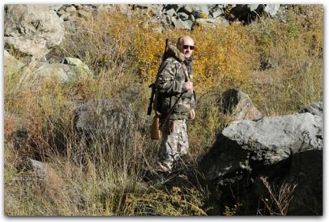 Путин на охоте фото