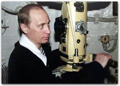 Путин на подводной лодке