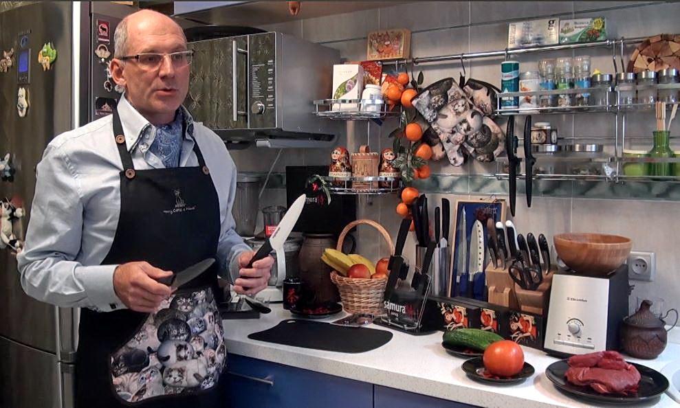 Кухонные ножи из черной и белой керамики - отзывы о керамических кухонных ножах