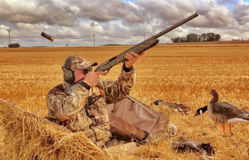 камуфляж для охоты на гуся и утку
