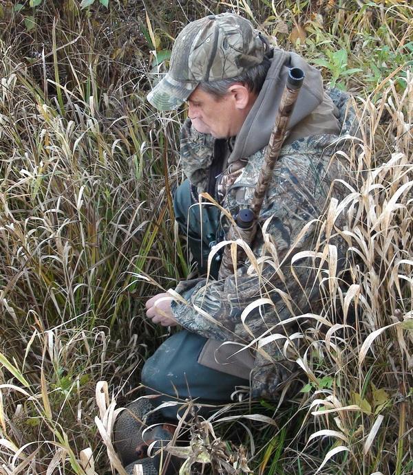 Камуфляж на утиную охоту