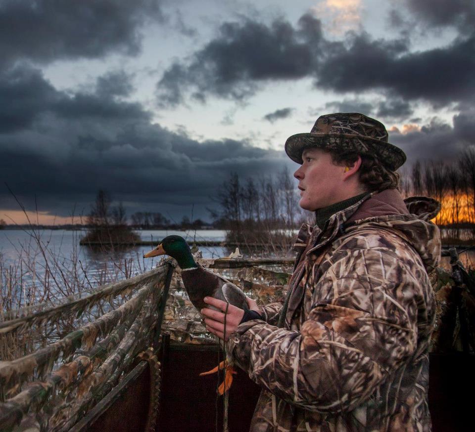 Охота на утку с подсадной, охота на селезня утки с подсадной