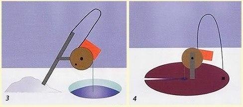 как правильно сделать жерлицу на окуня