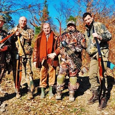 Традиционные классические охотничьи луки