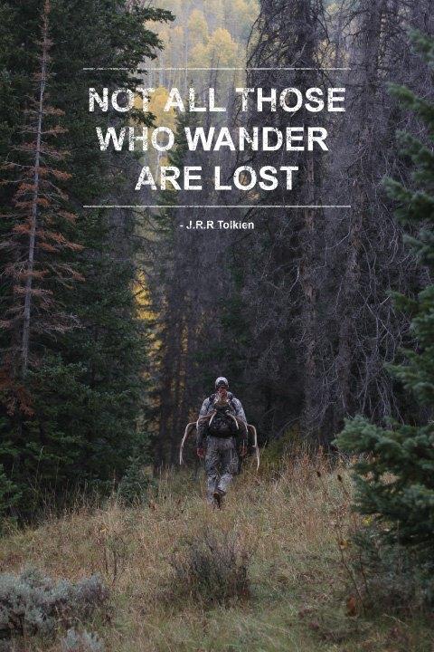 Не все те кто блуждает потеряны