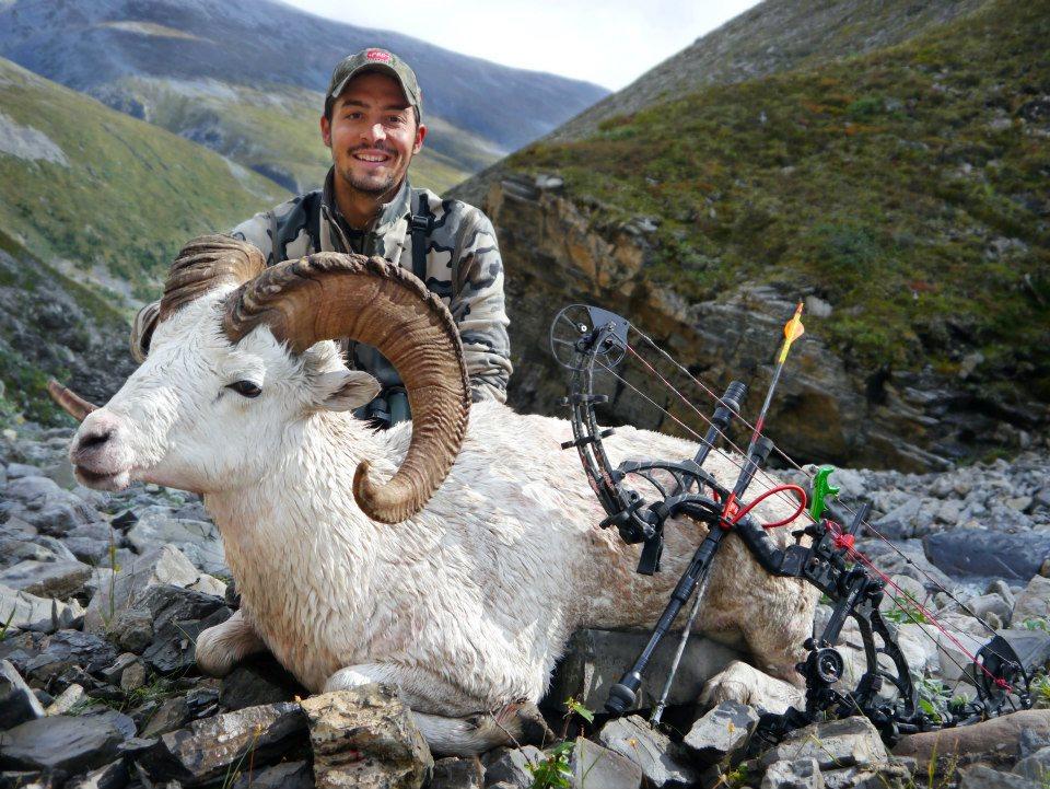 Охота с луком на горного барана