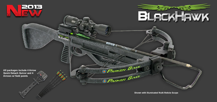 PARKER CROSSBOWS BLACK HAWK 2013
