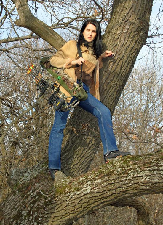 Интерлопер - Interloper - луки, арбалеты, охота с луком и арбалетом, охотничьи луки Bear Бэр - фото Андрей Шалыгин