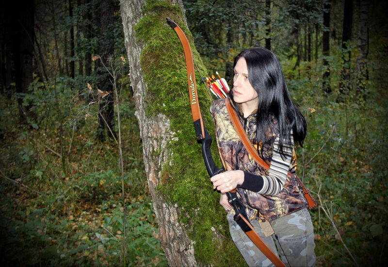 Классические охотничьи луки HOYT ARCHERY Фото Андрей Шалыгин