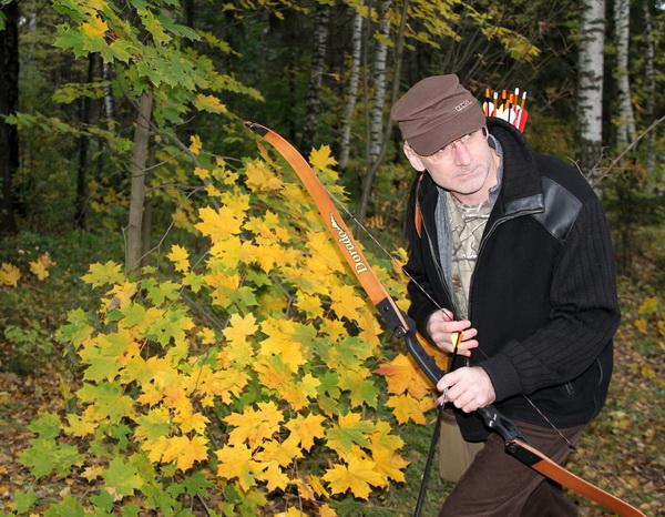 Классические охотничьи луки HOYT ARCHERY Фото Ольга Фрунзэ