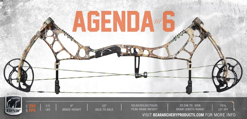 BEAR ARCHERY AGENDA-6 Охотничий лук