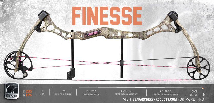 FINESSE BEAR - Охотничий лук только для женщин