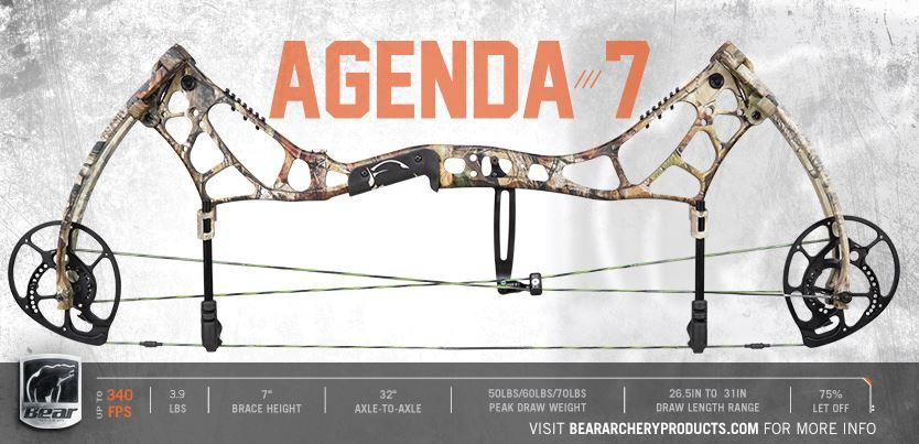 BEAR ARCHERY AGENDA-7 Охотничий Лук