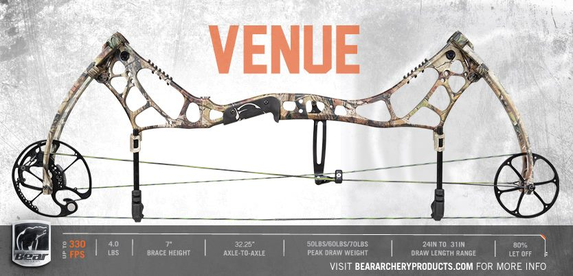 bear archery venue - Охотничий лук