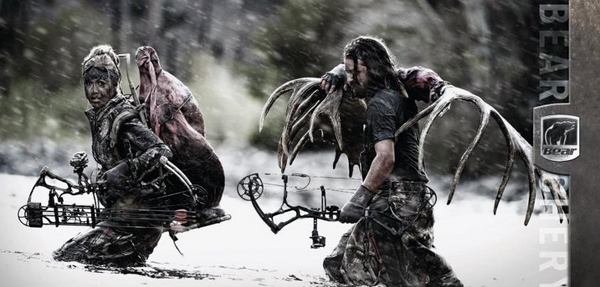 Охота на оленя с блочным луком охота на марала, охота с луком фото