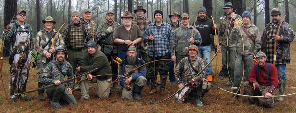 Охота с луком, охота с традиционным луком, охотничьи луки